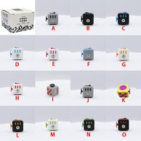 Wholesale New Styles Fidget Cube The World s First American Decompression Anxiety Toys In stock