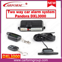 auto starter systems - Russia version two way car alarm system Pandora DXL3000 Engine starter way Auto alarm system Pandora DXL3000