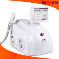anti aging technology - New Technology Two Handle Piece SHR OPT Hair Removal Beauty Machine For Skin Whiten Anti Aging