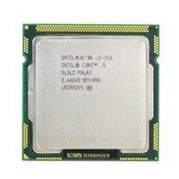 al por mayor cpus de 8 mb-Procesador Intel Core i5 750 2.66GHz 8MB Cache LGA1156 Desktop I5-750 CPU