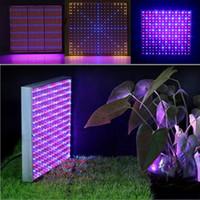 Wholesale 120W LED Grow Light Panel W Agricultural LED Grow Lights SMD LED Light Grow for Indoor Garden Pants Growing Vegetative and Flowering