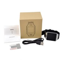 Wholesale Smartwatch Latest DZ09 Bluetooth Smart Watch With SIM Card For Apple Samsung IOS Android Cell phone inch smartwatches
