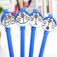 Wholesale New Creative Gel Pens Stationery Student Supplies Cartoon Cat Gel Pen Pens For Writing Office School Supplies Gift