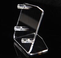 Acrylique vape stand support ecigarette vaporisateur affichage vitrine debout pour mécanique mod boîte affichage du téléphone mobile accepter l'ordre OEM DHL