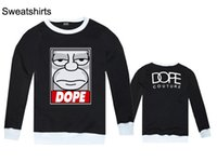 Wholesale 2016 fall and winter clothes new men s long sleeved T shirt favorite hip hop dope influx of male influx of people must looseS XXL