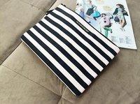 Wholesale Women Messenger Bags Picture Package Victoria Canvas Handbag Backpack Striped Female Bag Secret Black Christmas Gift TOP1456