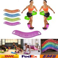Wholesale Newest Fit Board Balance Yoga Board Fitness Sports Trainer Workout Board Yoga Fitness Balance Trainer WX H06