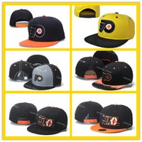 Ball Cap ball flyer - Philadelphia Flyers Snapback Hats Yellow Baseball Caps Hip Hop Mens Ice Hockey Sport Team Caps Adjustable