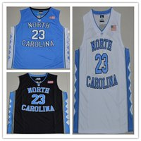 Wholesale TOP quality North Carolina Tar Heels mens College sports Jersey embroidery Athletic Outdoor Apparel jersey