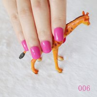 acrylic nails buy - explosion models cute candy colored hot buy fake fingernails Finished Deep rose N006