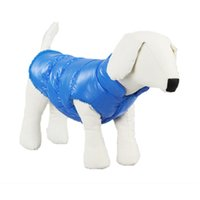 Wholesale Dogs Pet Cat Padded Vest Coat Puppy Dog Clothes for Small Dog Warm Down Jackets Windproof Raincoat Pet Apparel Abrigo