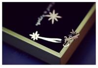 anise plant - New Spring asymmetric snowflake ear cuff S925 sliver K Rodium plated Crystal Anise star ear stud Star style Fireworks shape Earrings