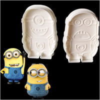 Wholesale Despicable Me Minions Cake Fondant Chocolate Cutter Mold Biscuit Cookies Mould Decorating For The Kitchen