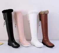 Flat Black Thigh High Boots UK | Free UK Delivery on Flat Black ...