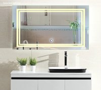 Wholesale Luxury Decorative Wall Mirrors Led Make Up Mirrors Lights Bathroom Mirror with Touch Switch W quot x H quot