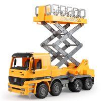 best car for maintenance - Street lights maintenance car Children s inertial truck the simulation engineering toys the best gift for children No