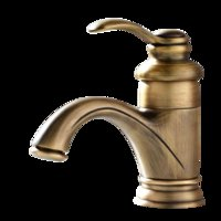 Wholesale 2017 Antique brass body bathroom faucet high quality under competitive price classical european water mixer taps