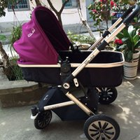 Wholesale High landscape baby carriage folding stroller suspension lying portable pushchair two way baby cart