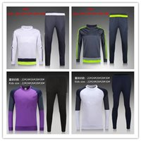 Wholesale Real Madrid tracksuits RONALDO JAMES kits MODERIC best quality long kids sleeve tracksuit training real madrid jacket kit
