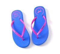 venda por atacado chinelos de borracha-Frete grátis vs rosa praia flip flops sapatos meninas Soft lazer sandálias, sandálias de praia sandálias de borracha em estoque