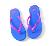 Indoor beach sandals wholesale - vs love pink beach Flip Flops shoes girls Soft Leisure Sandals Beach Slipper Sandals rubber in stock