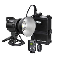 battery powered strobe light - Godox XEXPERT RS600P W WS Outdoor Flash Light Studio Strobe mAh Battery Remote Trigger FT Wireless Power Control