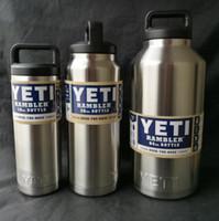 Wholesale 2017 Hot Sale Rambler Tumbler oz oz oz YETI Cups Cars Beer Mug Large Capacity Mug Tumblerful