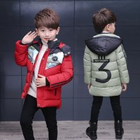 Wholesale Catamite Down Cotton Special Fund Cotton padded Children High Quality Clothes girls kids boys children s winter jackets for coat