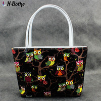 Totes owl leather handbags - Hot sell Owl mini handbags Fashion PU leather lady Small messenger bag gril Receive bag students zipper bag Female wallet FA0869