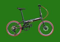Wholesale 20 Folding Bicycle Speed inch Quickly dismantling type of Aluminum Alloy Double Disc Brakes bicycle X5