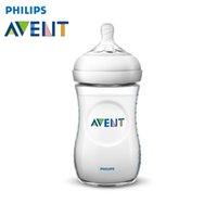 Vente en gros-AVENT BPA Free Bouteille en polypropylène naturel 260ml Mamadeiras nourrisson lait en lait bouteille d'alimentation Haute qualité Garrafa Nursing