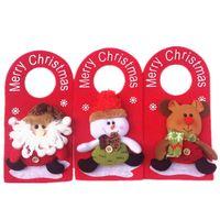 add door - Christmas products hang Christmas door hang a snowman Santa Claus Milu deer design door decorations Add
