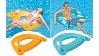 Wholesale 152cm inflatable chair float Pool Seat Swimming Float for adult Tube Raft Swim Ring Summer Water Fun Pool Toys