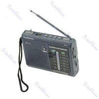 Wholesale AF FM Portable Radio Receiver With USB SD MP3 REC Player
