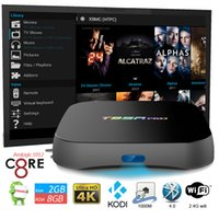 Wholesale T95R Pro Smart Tv Box Android6 G G S912 Octa Core Mini Pc Android Tv Box Wifi XBMC Miracast K Streaming Media Player