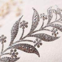 Wholesale accessories stone Crystal leaves Vine Wedding Headband Hair Accessories Bridal Head Tiaras Hair Jewelry Women wedding crowns
