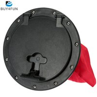 access plastic cover - Water Sports Rowing Boats Kayak Accessories Marine Out Deck Plate Cover cm Outer Diameter Plastic Access Boat Round