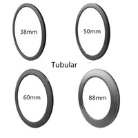 Wholesale Carbon Wheels C Carbon Ti Basalt mm mm mm mm mm mm Depth mm Bicycle Bike Rims Carbon Rims K UD Glossy Matt