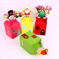 apple wrapper - Snowman Merry Christmas Apple Gifts Wrapper Box Wedding Favor Candy Boxes Xmas Party Cake Cookie Sweet Holder
