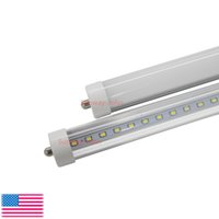 T8 FA8 Luces de tubo LED Single Pin led 8FT 45W 4800Lm bombillas SMD 2835 2400MM 8feet LED tubos fluorescentes de iluminación 3 años de garantía
