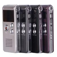 Wholesale GB Mini USB Flash Digital Audio Voice Recorder Hr Dictaphone Sound MP3 Player Gb Grey Pen Drive Grabadora Gravador de voz
