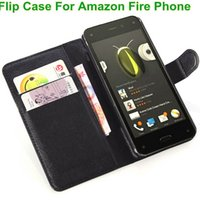 amazon covers phone - For Amazon Fire Luxury Lichee Pattern phone case Wallet PU Leather case For Amazon Fire Phone case leather cover
