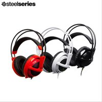 Wholesale Steelseries Siberia v2 Gaming Headset Wired Head mounted MM Full Size
