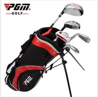 Wholesale PGM CHILD Golf Club clubs golf bag set children s pole boy years old