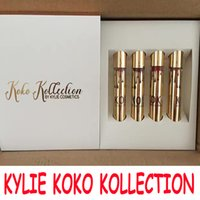 Wholesale in stock Newest Kylie Jenner Lipgloss Set The KOKO Kollection Set The Family Collaboration KHLOE Lip Gloss