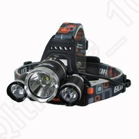 Wholesale Waterproof Headlamp Lm T6 LED Headlight Led Recgargeable Outdoor Hunting Spotlight Lamp Head Light Hunting lamp OOA1172