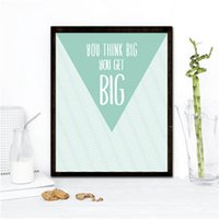 art inspirations - Inspiration Dream Big Quote Art Print Art Print painting Poster Wall Pictures for Home Decoration Wall Decor wall sticker