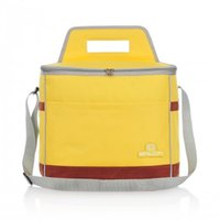 Wholesale YSJ Binlion Insulated Cooler Bag for Outdoor Picnic Simple Practice and soft touch feeling