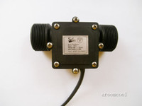 Wholesale G1 quot Water Flow Flowmeter Counter Hall Sensor Switch Meter L min
