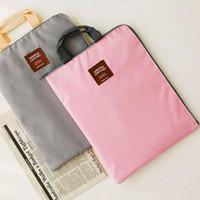 Wholesale quot quot quot quot Universal Portable Laptop Bag Zipper Tablet PC Hand Bag Light File Bag Netbook Protect Sleeve